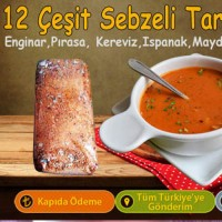 12 Çeşit Sebzeli Tarhana - 1 KG