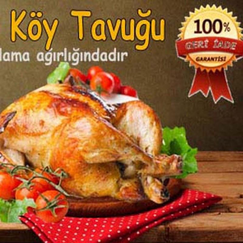 Kuru Yolum Köy Tavuğu - Tavuk Ürünleri
