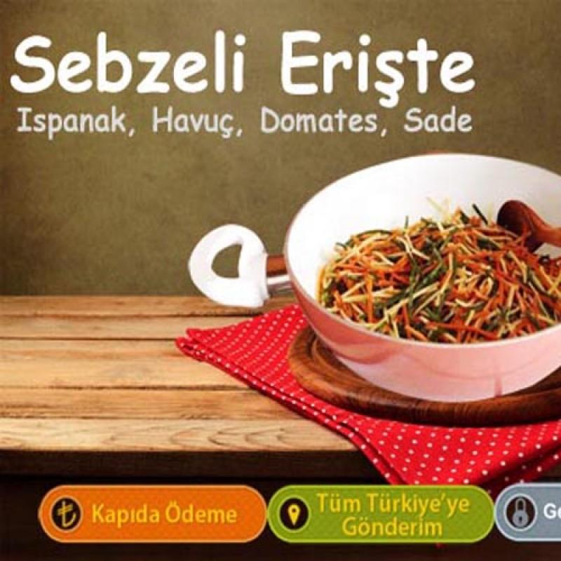 Sebzeli Erişte - 1 Kg