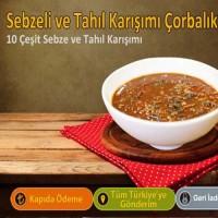 10 Çeşit Sebzeli Tahıl Çorbası